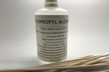 100ml Isopropyl Alcohol & 15 x 120mm Buds